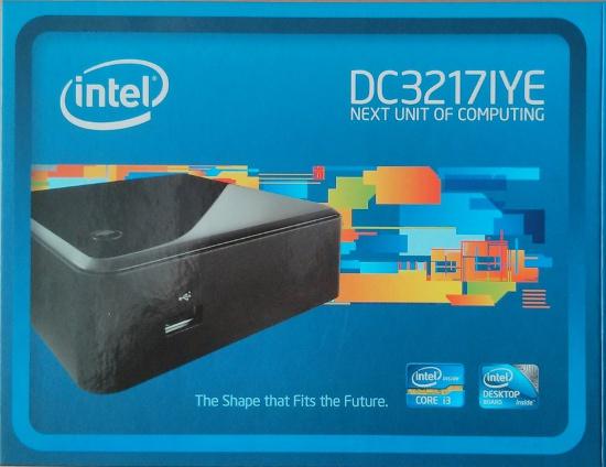 Intel NUC DC3217IYE Schachtel