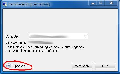 Remote Desktop Konfiguration 1