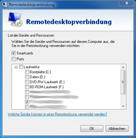 Remote Desktop Konfiguration 3
